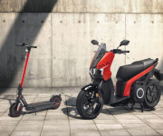 SEAT launches electric motorcycle and kick scooter image