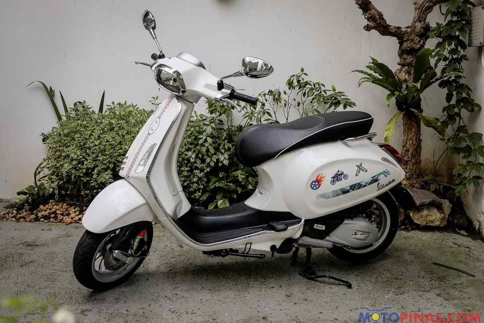 2017 Vespa Sprint 150 I Get Bike Reviews